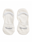 WMN 2-PACK SOLID INVISIBLE SOCK