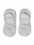 MEN 2-PACK SOLID INVISIBLE SOCK