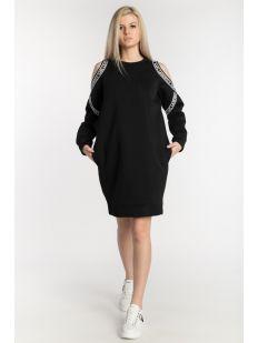 COLD SHOULDER SWEAT DRESS