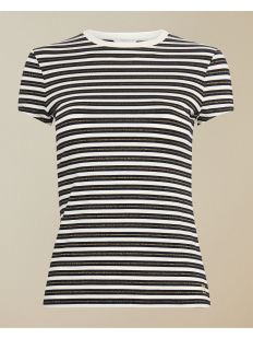 fitted breton striped tee