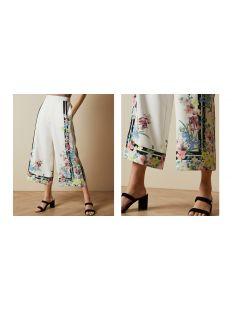 PERGOLA printed culottes
