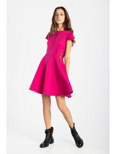 WMD-GIJI-Lace Insert Skater Dress