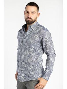 MMA-JAMZ-LS Floral Jacquard Shirt