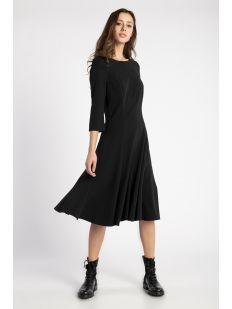 3/4 SLV STRETCH SCUBA DRESS