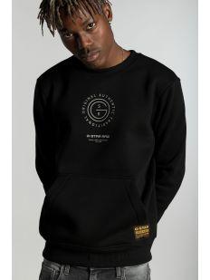 Multi graphic pkt sweater l