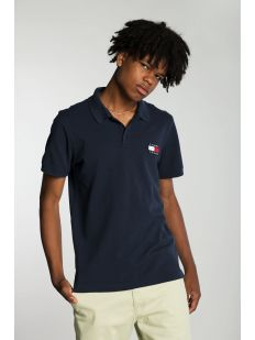 TOMMY JEANS BADGE LGHTWGHT POLO
