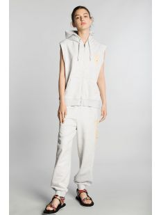 TOMMY J RELAXED BBALL HOODIE VEST