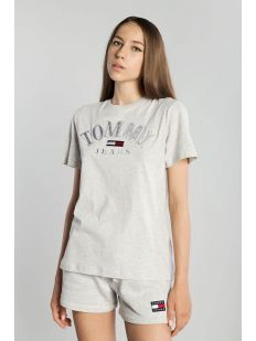 TOMMY J RELAXED COLLEGE LOGO TEE