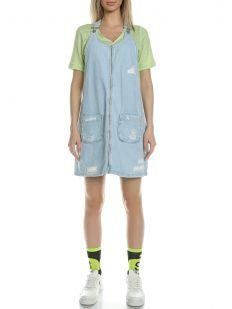 ZIPPER SHRT DENIM DRESS 3430
