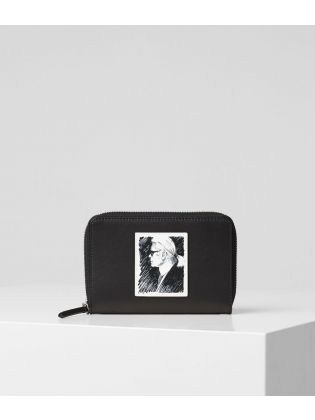 Karl Legend Medium Zip Wallet