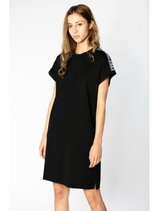 Mercerized Jersey Dress WLogo