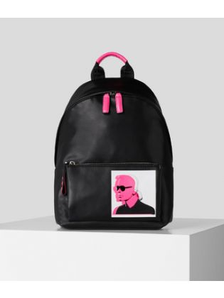 Karl Legend Leather Backpack