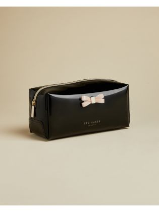 Bow detail Make up Bag