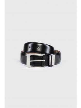 MXZ-BILDING-Branded Leather Belt
