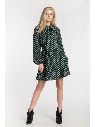 WMD-DOLLEY-Rocoo Printed Mini Dress