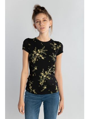 PAPYRUS PRINTED FITTED TEE