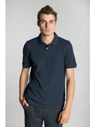 SS WAFFLE TEXTURED POLO