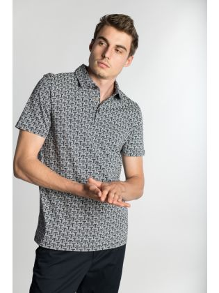 MMB-TDAWG-SS Printed T Polo