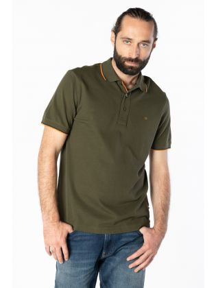 STRETCH PIQUE TIPPING POLO