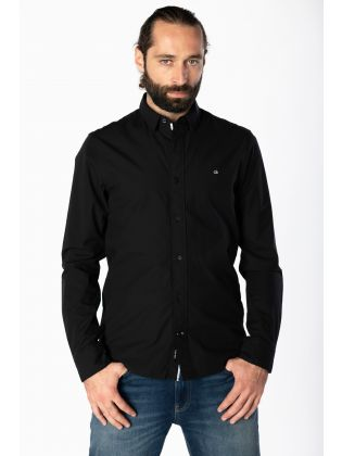 SLIM FIT STRETCH POPLIN SHIRT