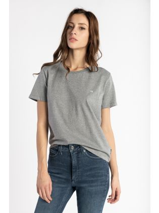 SMALL LOGO  C-NECK TOP