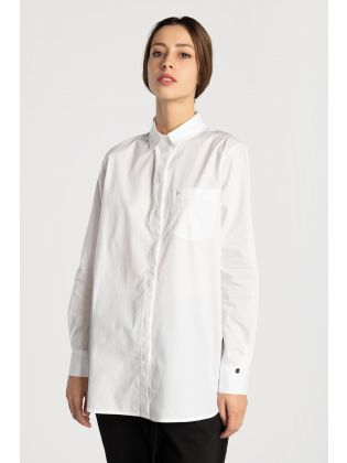 LS COTTON TUNIC SHIRT