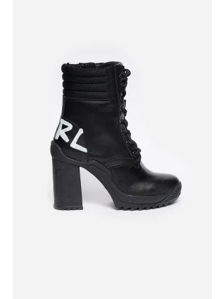 Ankle Lace Logo Boot