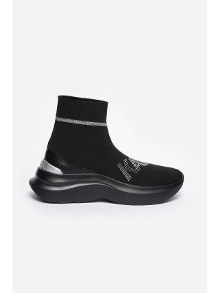Karl Rhinestone Boot