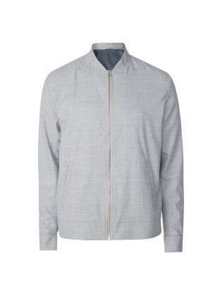 Como Check Bomber Jacket