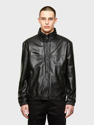 LEATHER JACKET L-NAME