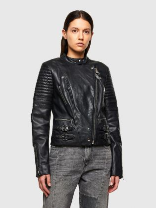 LEATHER JACKET L-IGE-NEW-A
