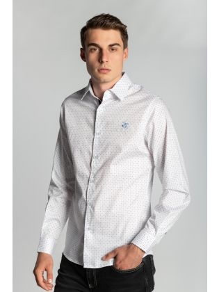JACQUARD FITTED SHIRT M3512