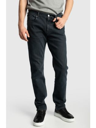 SLIM FLEX BLUE BLACK DENIM
