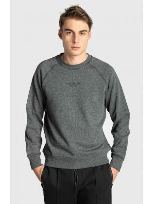 SMALL LOGO MOULINE SWEATSHIRT