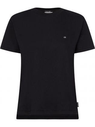 SMALL LOGO EMBROIDERED TEE C-N