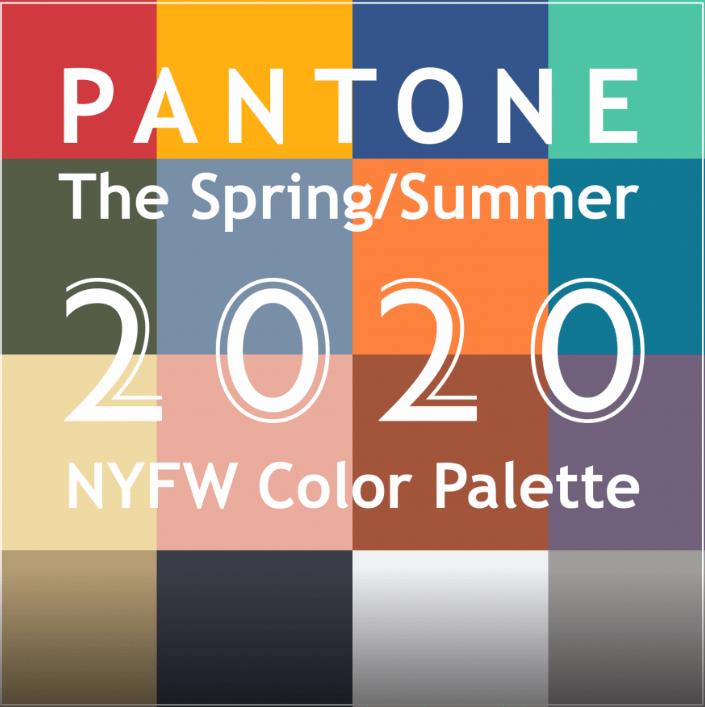 Цветовете на лято 2020